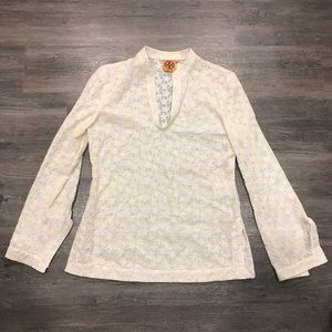 Tory Burch Star Embroidered Print Tunic 4